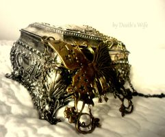butterfly casket by deathswife666