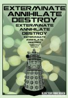 Dalek Exterminate by Robgrafix