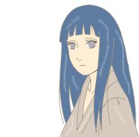 The Hyuuga Heiress color by man1nblack