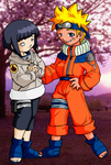 Hin and Naru for Rae by Issa-chan