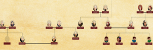 Family Tree with Portraits - part 1 by Ammeg88