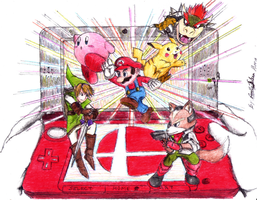 Super Smash Bros. 3DS by Reallyfaster