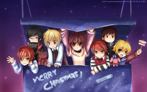 Ouran's Christmas Box by sunshineikimaru