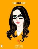 Orange is the New Black.  Alex Vause by e-carpenter