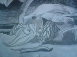 Art GCSE exam Final A1 Project by ARTic-Weather