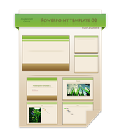 Powerpoint Template 02 -green by sandi-x