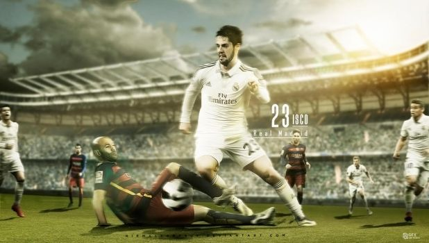 Isco Wallpaper - Inspired by RyanGFXpictures by nirmalyabasu5