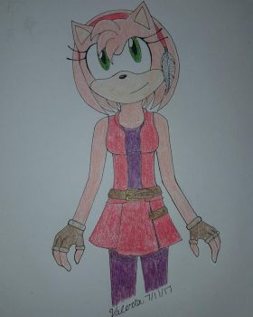 Amy Rose by ValeriaMR