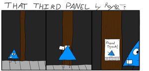 That Third Panel - More Friends #16 by Roy4242