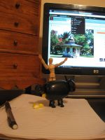 Bad Kitty: My Workspace by CelticStrm