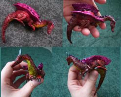 Clay Dragon by Veganotron