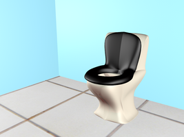 Toilet 3D by mirry92