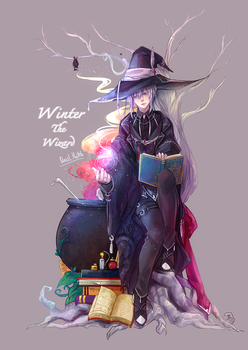 Winter - The  Wizard by Devil-Nutto