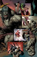 NEW AVENGERS 23 page 7 by Summerset