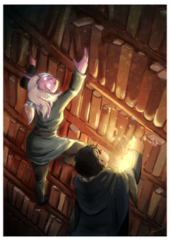 Grand Library by SkyDrew