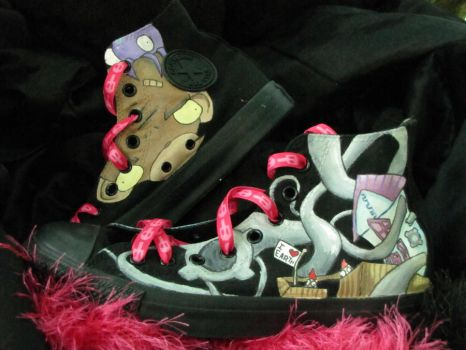 Invader Zim shoes 2 by Casodjawa