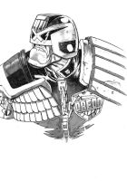 Dredd greywash commission by pauljholden