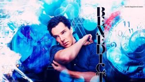 Benedict Cumberbatch wallapaper 55 by HappinessIsMusic