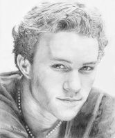 Heath Ledger by H3lianthus
