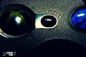 Press Start To Play by MoonShotPhotos
