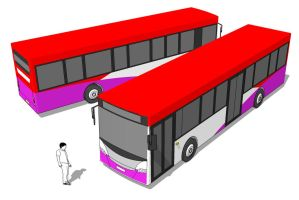 3D SBS Bus by parka