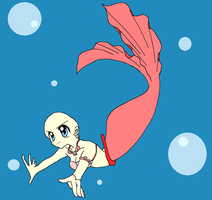 Mermaid  Melody Please be Safe Base by STITCH62633