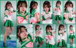 Sailor Jupiter Cosplay Collage by AmmieChan
