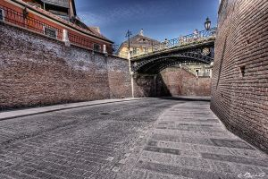 Old city of Sibiu 2 by FriendlyPiranha