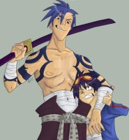 Kamina and Simon by Bukaojo