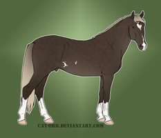 Andalusian Adopt -SOLD- by SasukeLover313