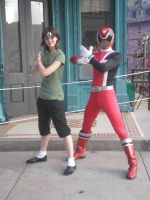 Me and the Red Ranger by Phenom-Jak