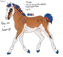 2046 Padro Foal Design for RougarCougar by ArtOfFreedom