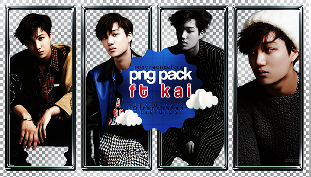 Kai (EXO) Png Pack [010317] by RoxyNeonColors