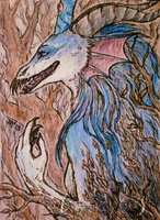 Wooden .ACEO by silverybeast