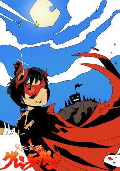 Raw Raw Fight The Power - TTGL by ghonnen