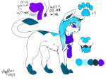 Snowangel ref sheet 2014 by SnowLilies