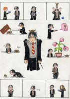 Harry Potter and the Frog by fadetag