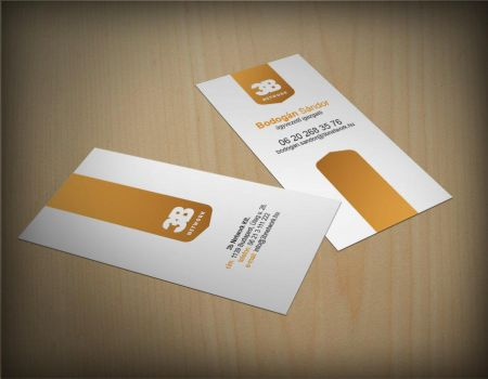 3b business card by arkantal