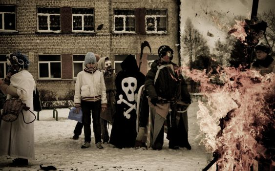 Lithuania, Orphanage visit III by Dsandell