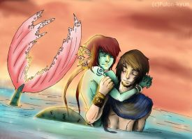 when sea and sky are meeting by Fulon-kyun