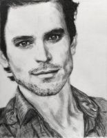 Matt Bomer Drawing by SHParsons