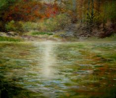 Pond by Eluone