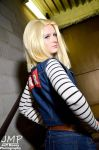 Android 18 by xXthemozXx