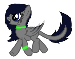 Custom Daemon Pony for - KatyLee5 by iPandacakes