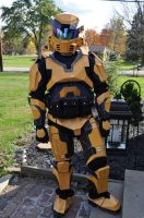 Finished Grif Suit by Red8ball