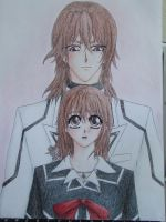 Fan art - Vampire Knight by Light-Lein