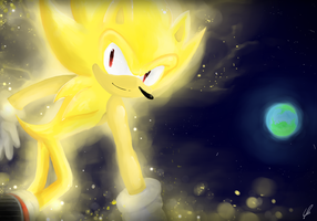 Super Sonic ~I'm back to home~ by Klaudy-na