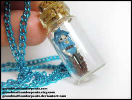 Kanon Bottle Necklace by GrandmaThunderpants