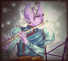 Flute by AkariMarco