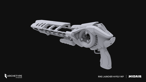 Midair Ring Launcher High Poly by Voidspawnie